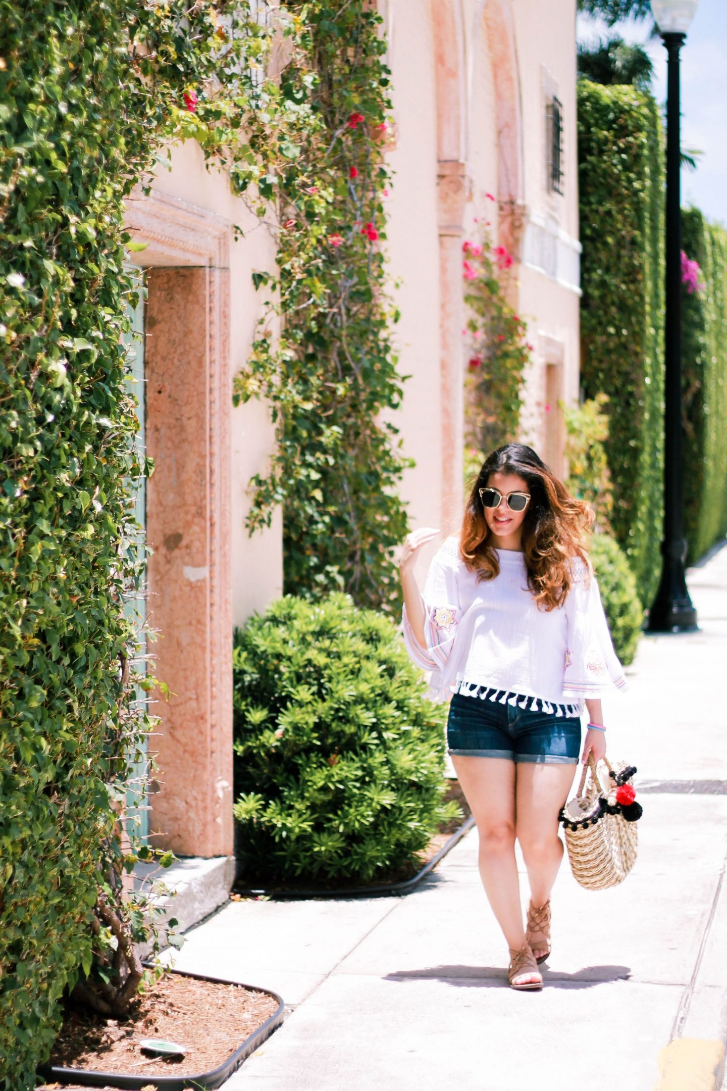 Three Summer Looks for Exploring Worth Ave. in Palm Beach, Florida.